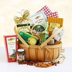 Summer Picnic Delight Gift Basket