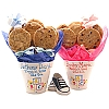 ABC Flower Pot - 6 Gourmet Cookies
