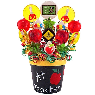 ABC's Candy Bouquet
