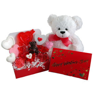 A Sweet Valentine Bear: Candy Gift & More