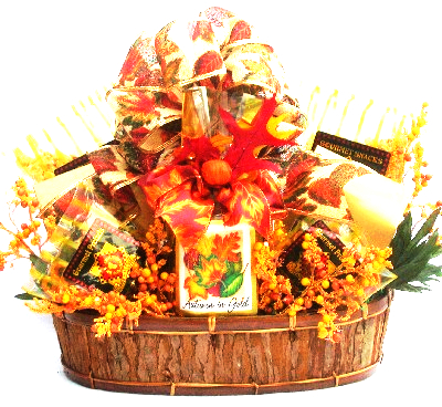 Autumn Splendor: Fall Gift Basket