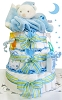Baby Bear 3 Tier Diaper Cake For Boy