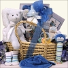 Baby Essentials ~ For Boy: Baby Gift Basket