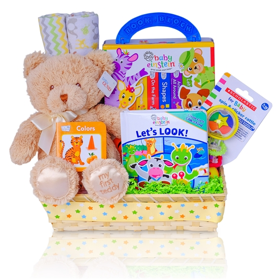 Baby Einstein Let's Look & Read With Me Gift Basket