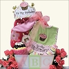 Baby's First Birthday ~ Girl: Baby Birthday Gift Basket