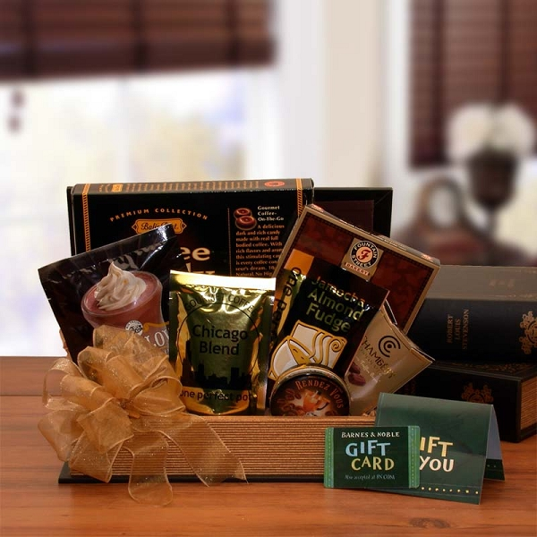 Barnes And Noble Book Lover Gift Basket