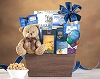 Cuddly Bear: Congratulations Teddy Bear Gift Basket