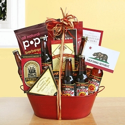 Gourmet Beer Gift Basket by Bear Republic