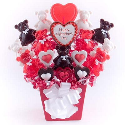 Beary Sweet Kisses Love & Hugs Bouquet