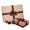 Belgian Truffle Cake Bons: Candy Gift Box of 9
