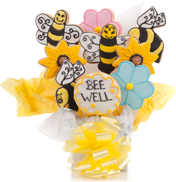 Be Well Cookie Bouquet