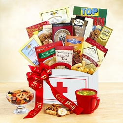 Get Well Cheers Gift Basket