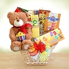 Birthday Party Teddy Bear Gift Basket