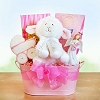 Blessings For Baby Girl ~ Christening Gift Basket