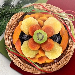 Blooming Sweet Dried Fruit Gift Basket