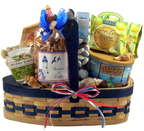 Sailing Away: Nautical Gourmet Gift Basket