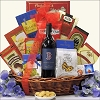Boston Red Sox Club: Red Wine Gift Basket