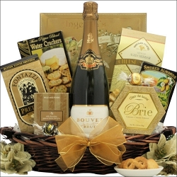 Bouvet SIignature French Sparkling Wine:Gift Basket