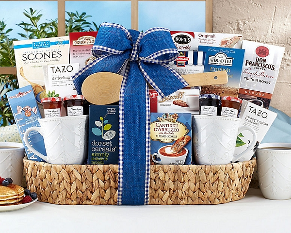 Breakfast Delights Gift Basket
