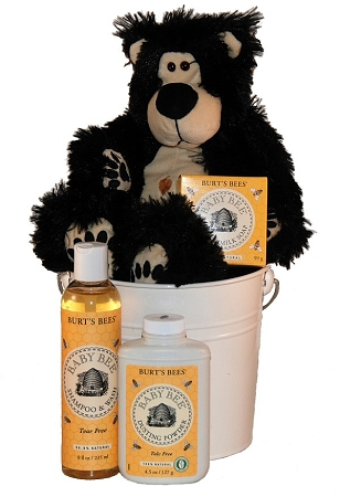 Burt's Bees Baby Bee Bear Baby Spa Gift Basket