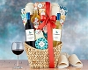 California Wines & Spa Gift Basket