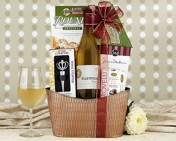 California Chardonnay Gift Basket