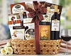 California Assortment Wine & Gourmet Basket