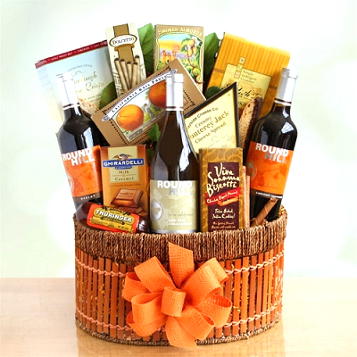 California Grapevines: Wine Gift Basket