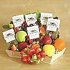 California Nuts And Fruit Gift Basket