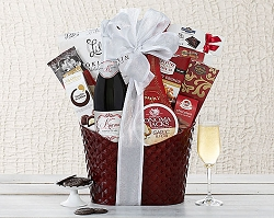 California Sparkling Wine Gift Basket