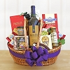 California Vineyard Wine & Gourmet Basket