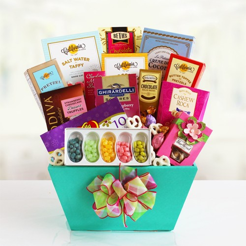 Mom's  Day Celebration Gift Basket