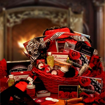 Celebrating Love: Valentine's Romance Gift Basket