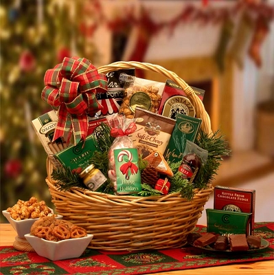 Celebrating Christmas: Holiday Gourmet Gift Basket