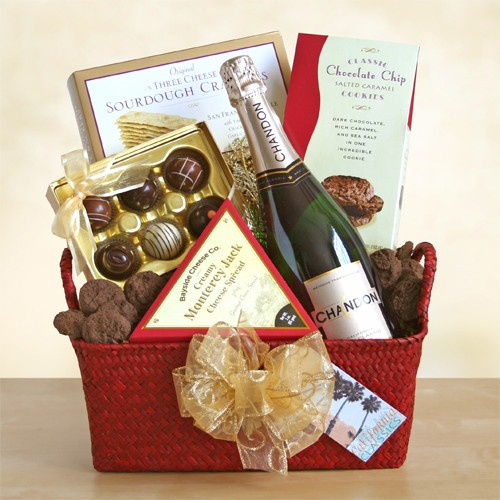 Domaine Chandon Celebration: Sparkling Wine Basket