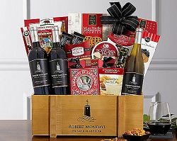 Robert Mondavi Private Selection & Gourmet Basket