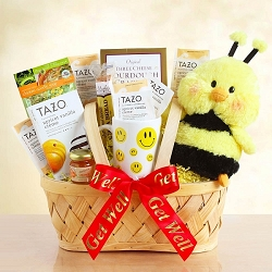 CHEEKY BEE GET WELL SOON GIFT BASKET