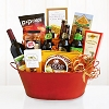 Cheers Beer & Wine Gift Basket