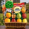 Cheese and Fruits: Spectacular Fruit Basket