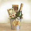 Chocolate & Champagne Cheers Gift Basket