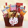 Chocolate Pleasures: Valentine Celebration Gift Basket