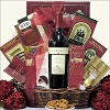 Chocolate & Your choice of Wine Gift Basket