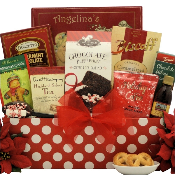 Christmas Morning Delight: Breakfast Holiday Christmas Gift Basket