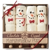 Christmas Snowman Box of 4 Hand-Dipped Marshmallow Pops