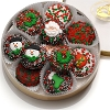 Christmas Tin of Chocolate Dipped Oreos®