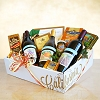 Wines & Gourmet Delights Gift Basket