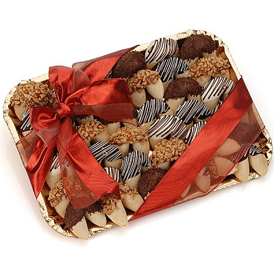 Classic Gift Tray Gourmet Fortune Cookies - 36 Cookies