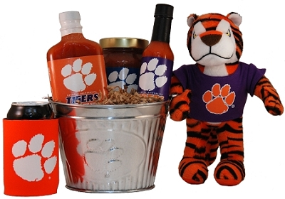 Clemson University Tigers Gift Basket