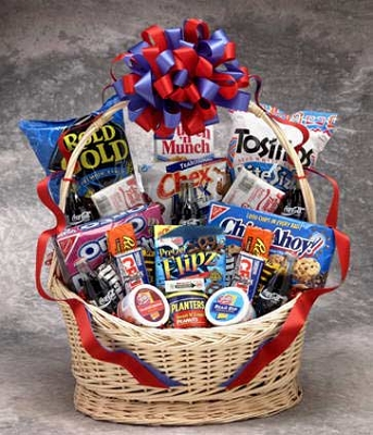 Coke Snack Works Gift Basket