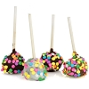 Confetti Brownie Pops -6
